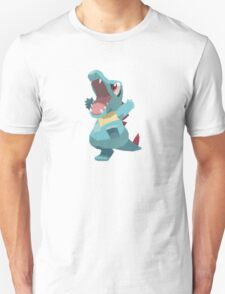 Totodile Low Poly Unisex T-Shirt