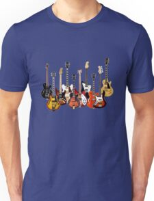 Electric Guitars Unisex T-Shirt