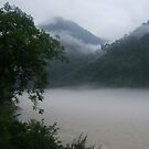 Ganges at Dawn by DeborahDinah