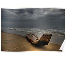 Stormy Skies ... Deep Seas Poster