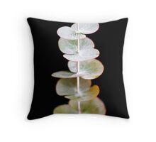Eucalyptus Pulverulenta  Throw Pillow