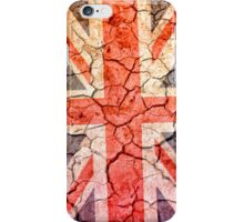 Cracking Up in the UK iPhone Case/Skin