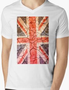 Cracking Up in the UK Mens V-Neck T-Shirt