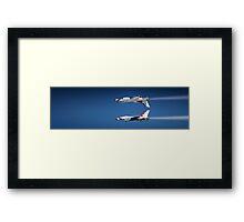 Thunderbirds - Mirror Pass Framed Print