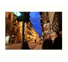 goodnight Florence Art Print
