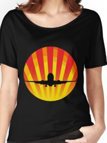 Jet Silhouette3 Women's Relaxed Fit T-Shirt