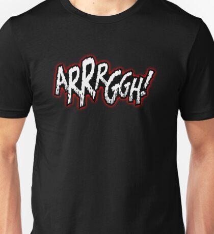 Comic Crazy - ARGH Unisex T-Shirt