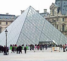 The Louvre Museum Paris by santoshputhran