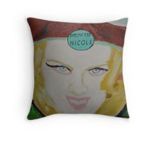 Princess Nicole Kidman Throw Pillow