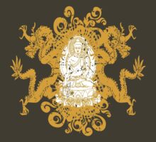 Buddha with Dragons T-Shirt