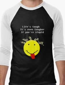 Lifes Tough Men's Baseball ¾ T-Shirt
