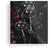 Monsters... Metal Print