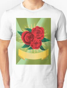 Card with red roses T-Shirt