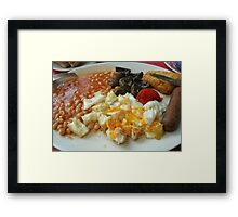 English Breakfast Framed Print