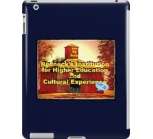 """""""Artbybob Redneck's Institution for Higher Education and Cultural Experience""""... prints and products iPad Case/Skin"""