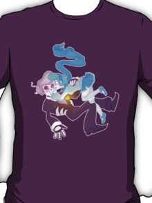 Mystery Skulls Ghost - Lewis and Vivi T-Shirt