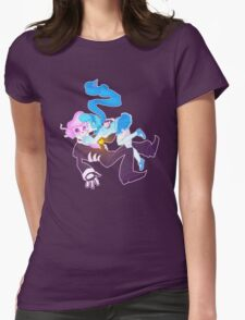 Mystery Skulls Ghost - Lewis and Vivi Womens Fitted T-Shirt