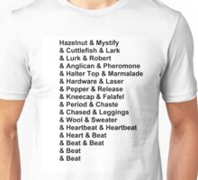 Night Vale - The List Unisex T-Shirt