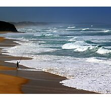 Fishing the Surf  Photographic Print
