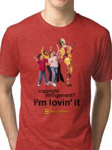 Buttress O'Kneel - I'm Lovin' It... Tri-blend T-Shirt