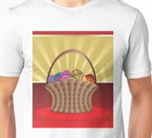 Easter card with eggs Unisex T-Shirt