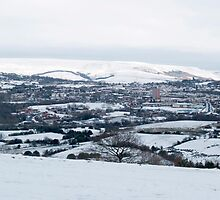 Hattersley from Werneth Low by Rachel Down