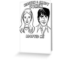 THE O.C. Sandy & Kirsten Cohen Greeting Card