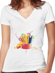Celebration Gifts Women's Fitted V-Neck T-Shirt