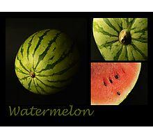 Watermelon Photographic Print
