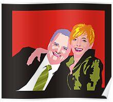 Shaz & Pete Poster
