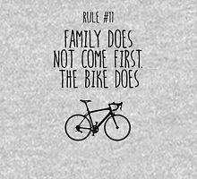 Rule #11 Family does not come first. The bike does Unisex T-Shirt