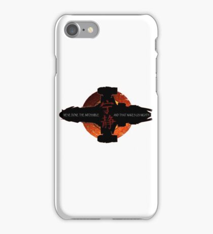 We've done the impossible and that makes us mighty iPhone Case/Skin