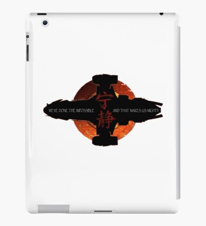 We've done the impossible and that makes us mighty iPad Case/Skin