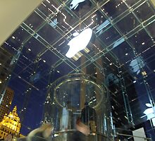 Apple Store, NYC, December 2006 by drdkdover