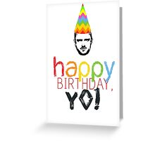 Breaking Bad Birthday Card Greeting Card