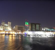 NYC Skyline Blurry by drdkdover