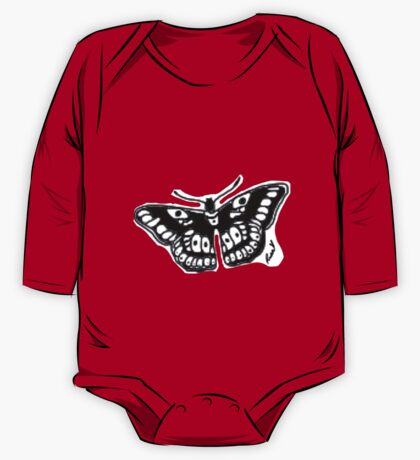 Butterfly Tattoo One Piece - Long Sleeve
