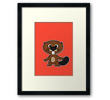 Little Beaver Framed Print