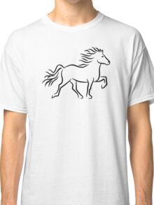 Iceland horse Classic T-Shirt
