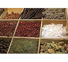 Spices Photographic Print