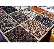 Spice rack Photographic Print