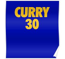 Stephen Curry #30 Poster