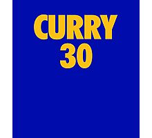 Stephen Curry #30 Photographic Print