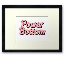Power Bottom Barbie Framed Print