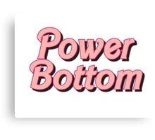 Power Bottom Barbie Canvas Print