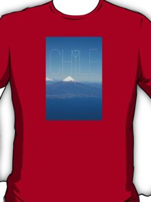 We Love Chile! Patagonia, Osorno Volcano. T-Shirt