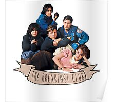 the breakfast club banner Poster