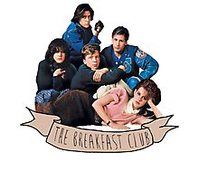 the breakfast club banner Photographic Print