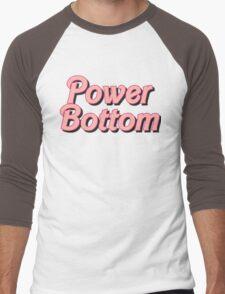 Power Bottom Barbie Men's Baseball ¾ T-Shirt