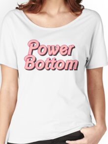 Power Bottom Barbie Women's Relaxed Fit T-Shirt